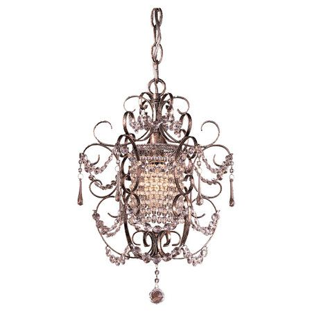 Ornate And Subtly Feminine This Elegant Mini Chandelier Adds An