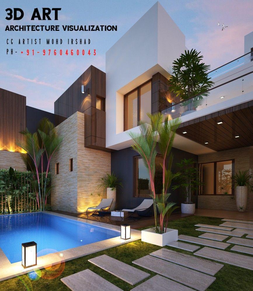 House Design Back Yard In 2020 Backyard Landscaping Designs Master Bedroom Design House Design House design with backyard