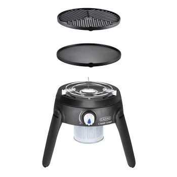 This Portable And Versatile Gas Bbq Weighing Only 4kg Includes Three Interchangeable Cooking Surfaces Which Al Portable Gas Bbq Gas Bbq Gas Grill Reviews