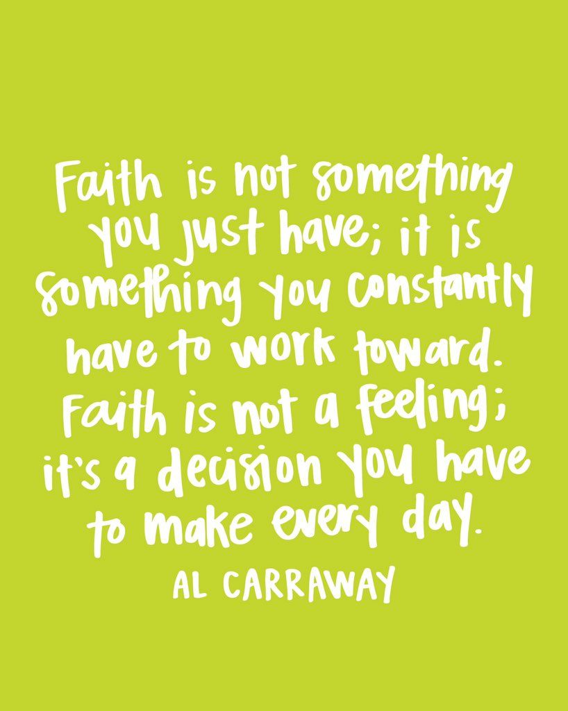 Faith In God Quotes Faith God Quote  Al Fox Carraway  Lds  Pinterest  Inspirational