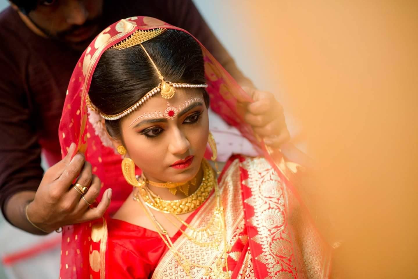 Best bridal makeup image by swapna on mekeup Bengali