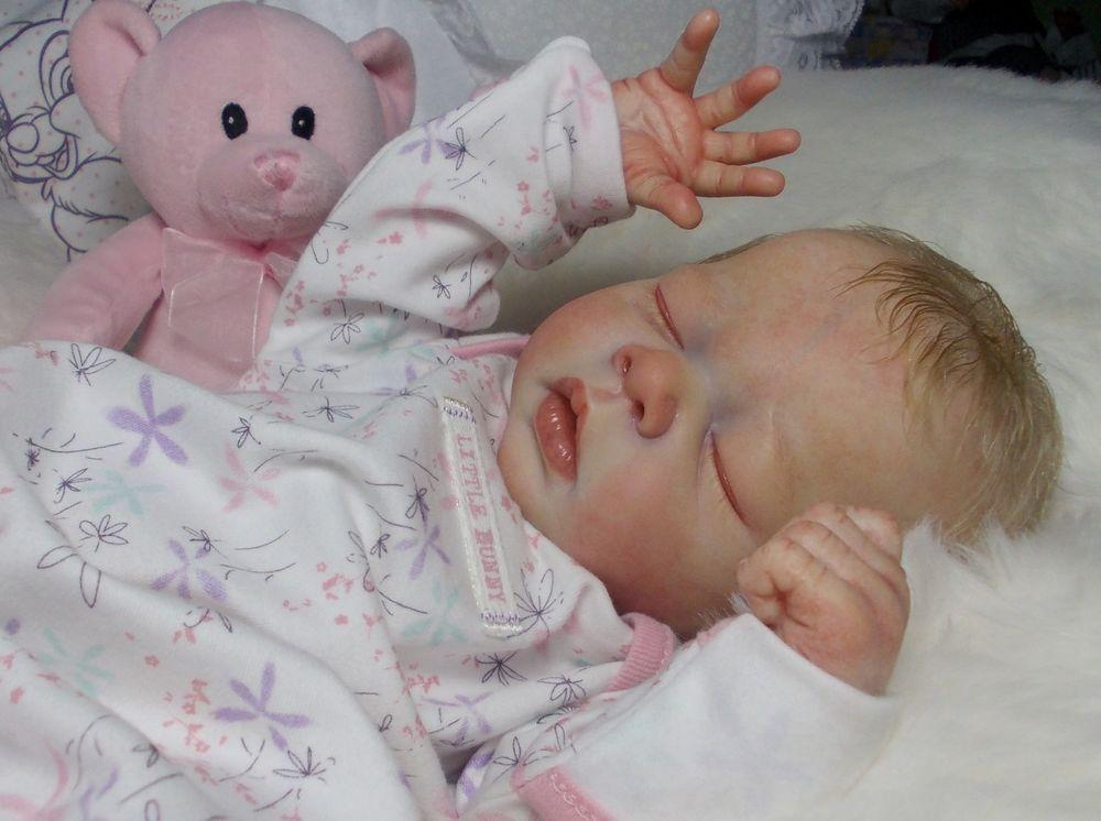 Reborn baby girl doll Erin~Adrie Stoete~PEEK-A-BOO Nursery~