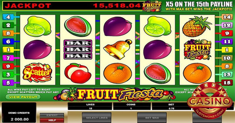 No Download, No Registration Sparkling Fruits Slots