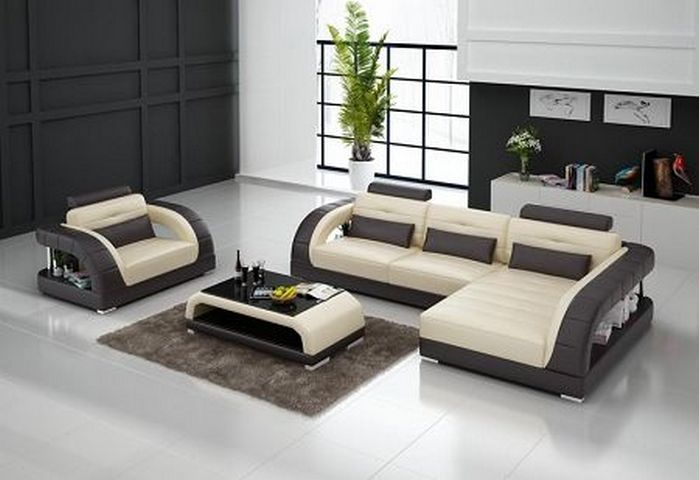 Leather Sofas For Modern Living Roomyou Can Easily Combine A Fair Sofa Set Designs For Small Living Room Design Ideas