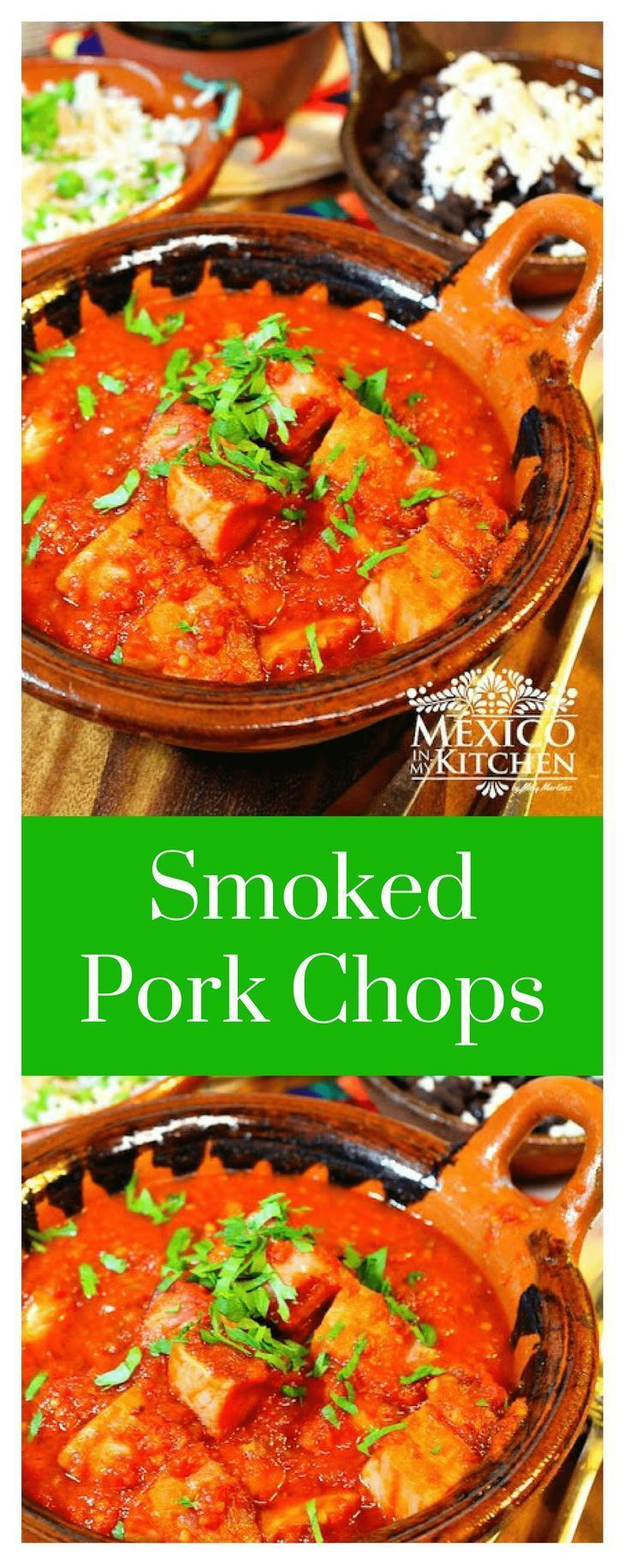 How to make Smoked Pork Chops in Chipotle Sauce   Mexican ...
