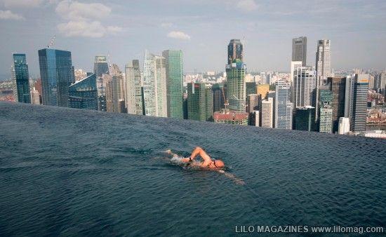 Marina Bay Sands Hotel In Singapore Amazing Swimming Pools Sands Hotel Singapore Sands Singapore