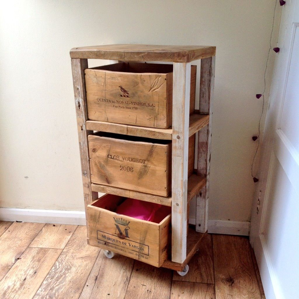 Up Cycled Storage Unit For Fruit And Veg Idee Rangement Clos Vougeot Cagette