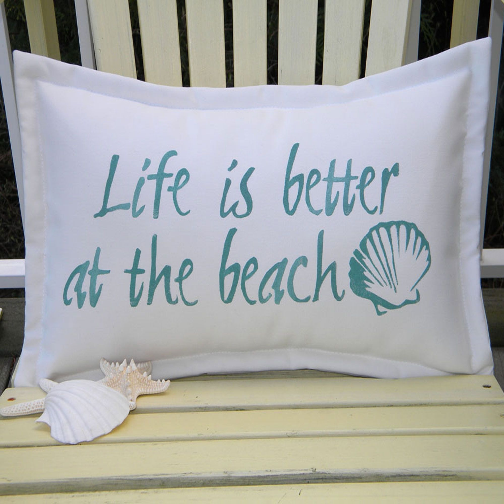 beach turquoise pillow scene and square p starfish pillows v decorative shell coastal
