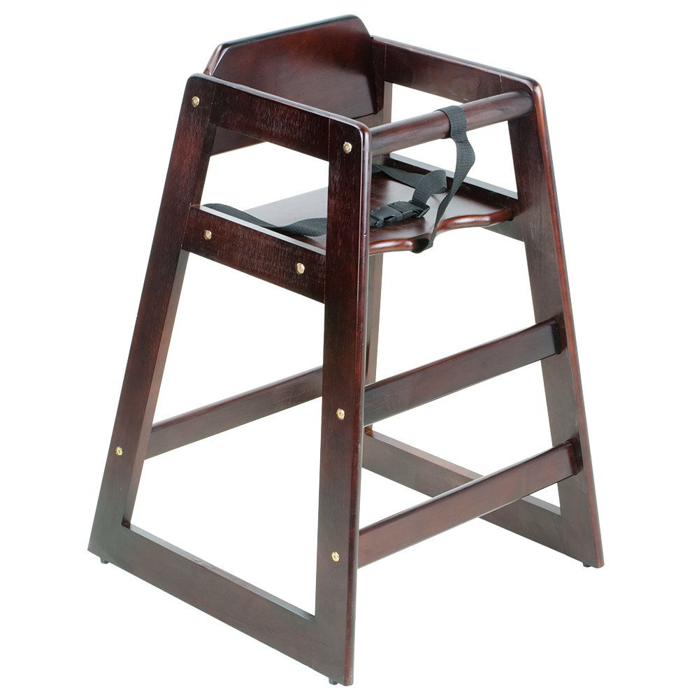Restaurant Wood High Chair Lancaster Table Seating Stacking