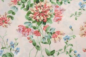 10 Yards Brunschwig & Fils Liza Polished Cotton Floral Drapery Fabric
