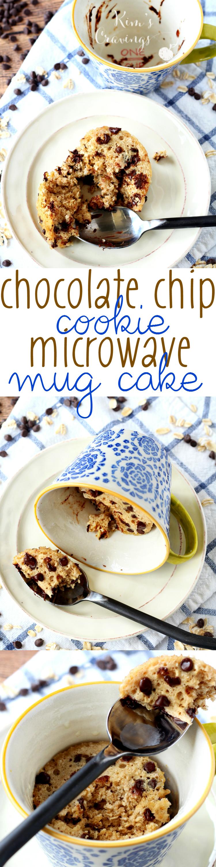 Chocolate Chip Cookie Microwave Mug Cake | Recipe | Mug ...