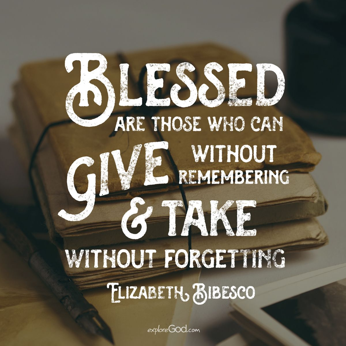 Image result for blessed are those who can give without remembering