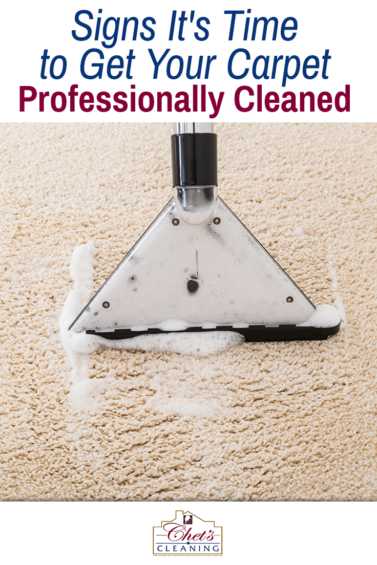 Signs It S Time To Get Your Carpet Professionally Cleaned Carpet Cleaning Hacks How To Clean Carpet Cleaning