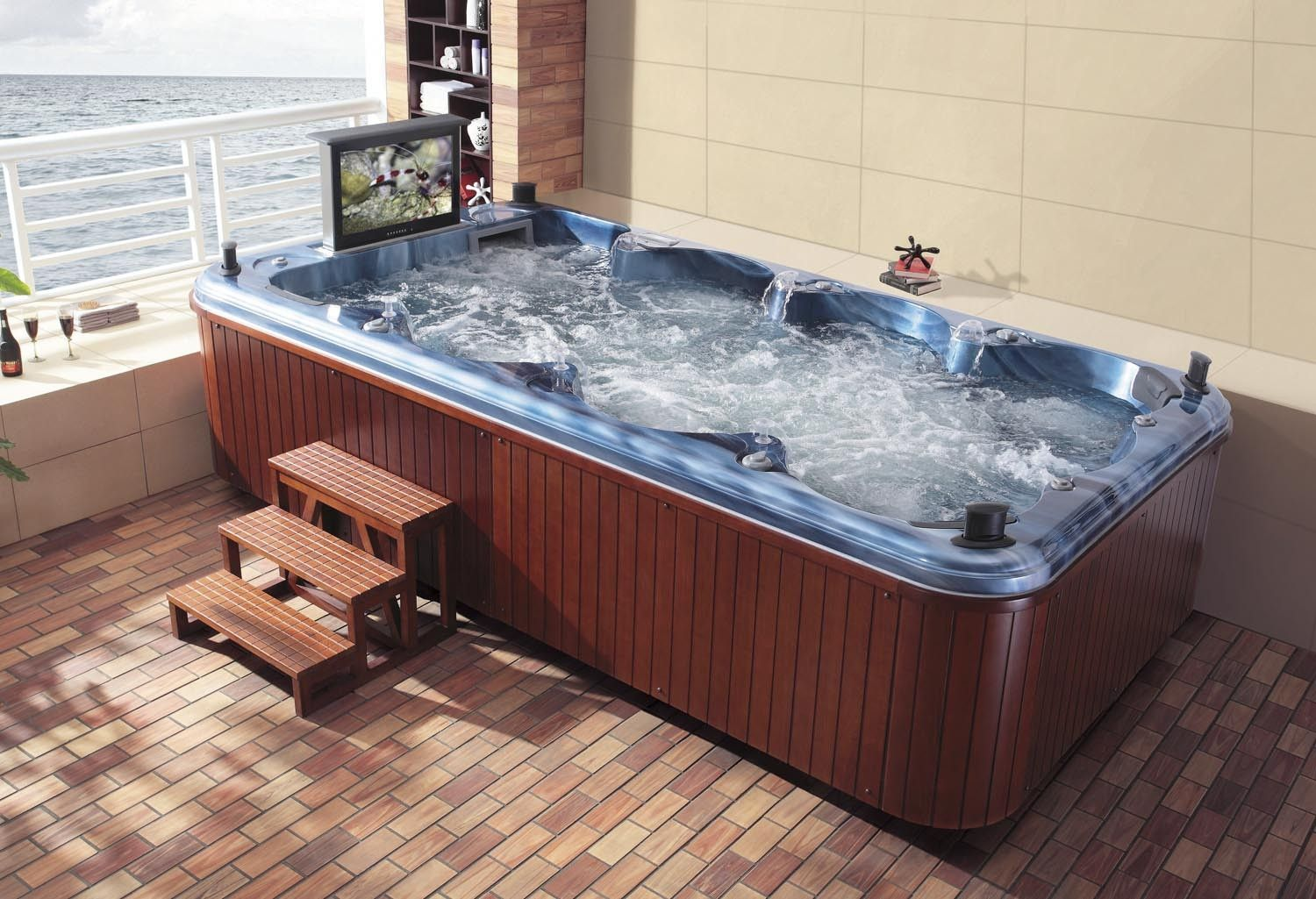 Swiming Pools Selecting The Best Swim Spa Or Hydrotherapy