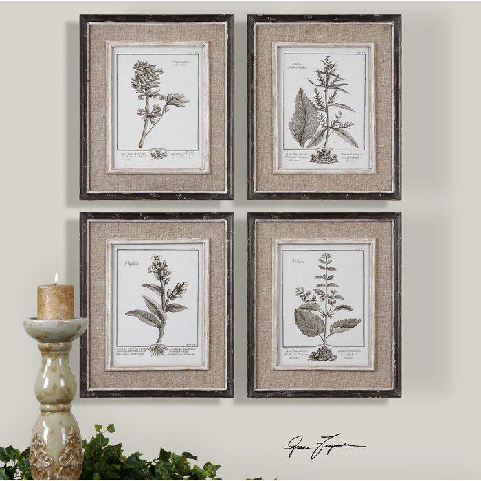 Ladouceur 4 piece framed graphic art set graphic art birch lane and birch