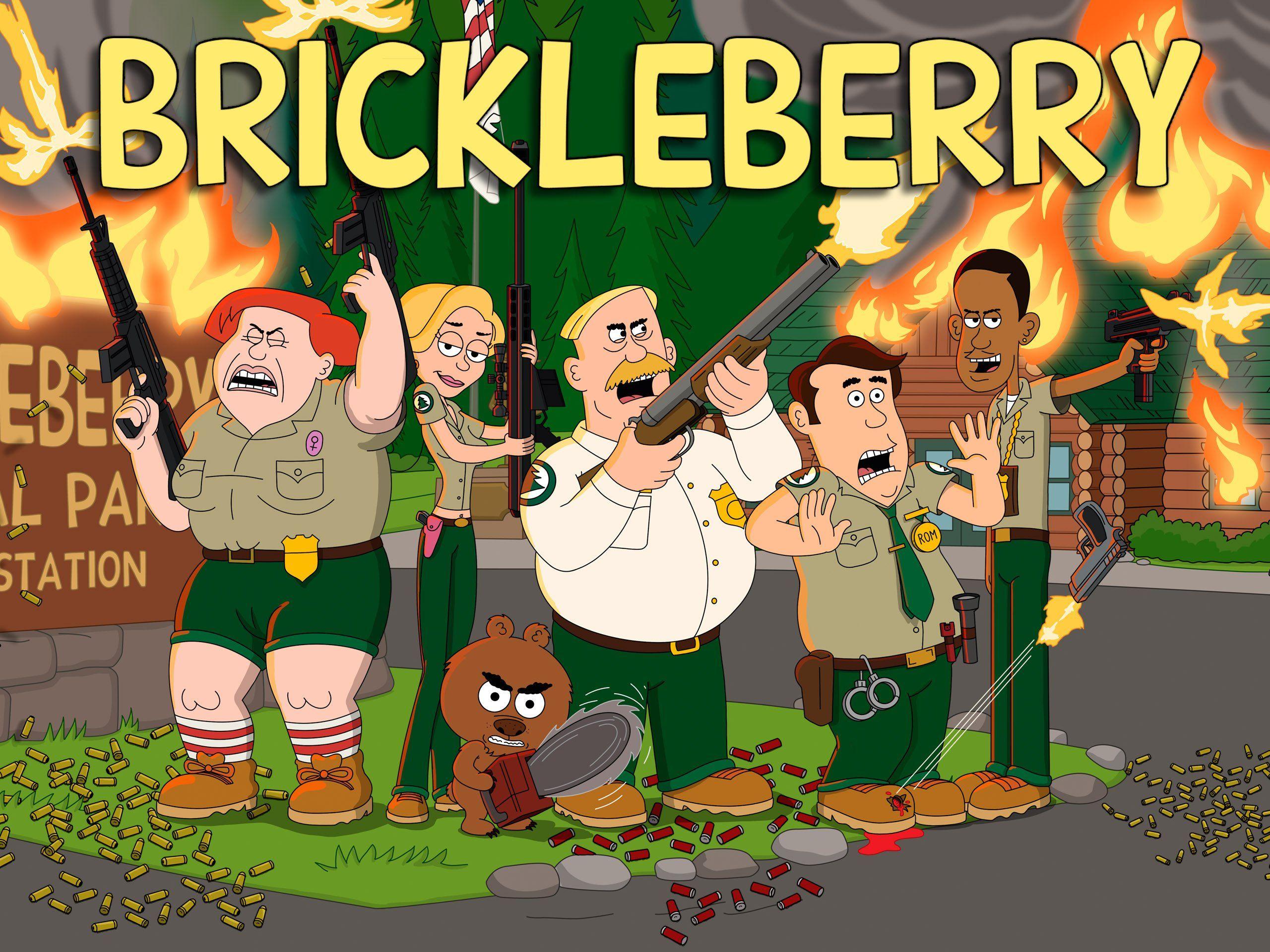 Brickleberry Cartoon, Best tv shows, Tv series