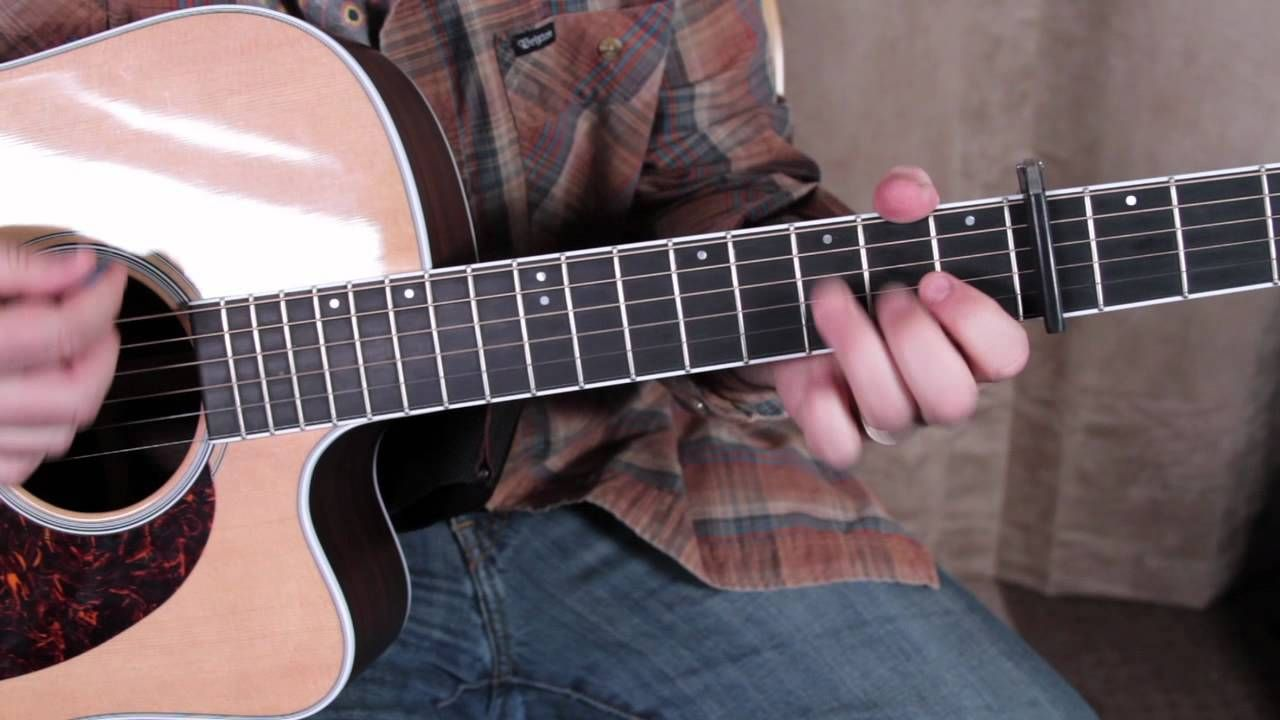 Peter Gabriel Solsbury Hill Guitar Lesson How To Play On