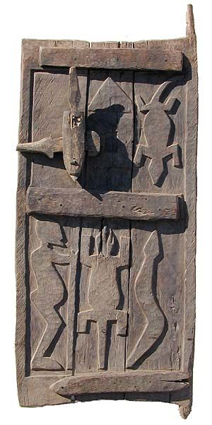 Dogon Door from Mali in West Africa.