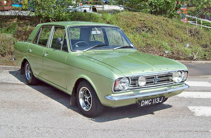 495 Ford Cortina Mk Ii 1600e 1970 Classic Cars British