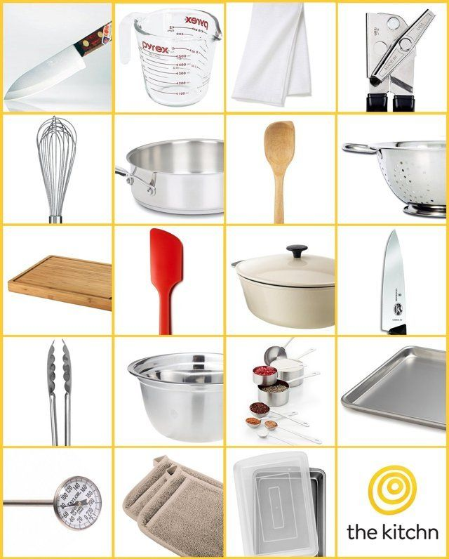 how to get absolutely every kitchen essential for only 300 our rh pinterest co uk Kitchen Items Kitchen Necessities Checklist