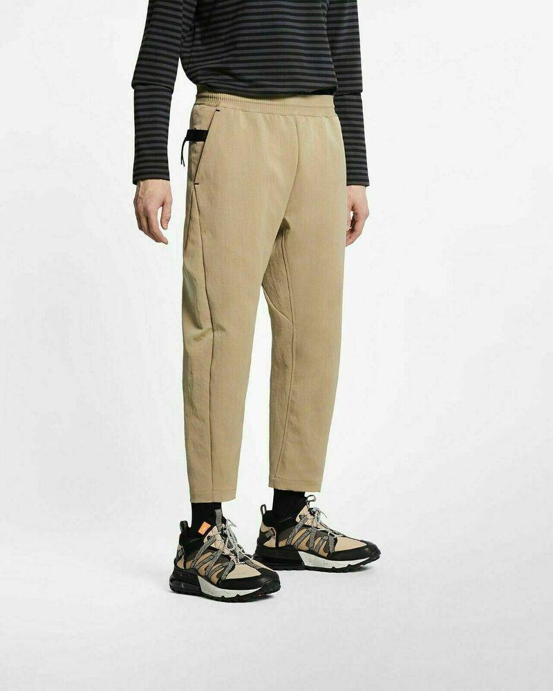 Nike Sportswear Tech Pack Cropped Woven Men/'s Pants Size Medium Blue AR1562-427