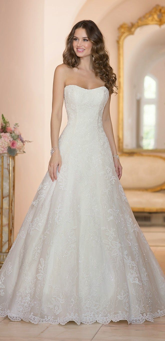 ebbcb59970e Stella York Spring 2015 Bridal Collection - Belle the Magazine . The  Wedding Blog For The Sophisticated Bride