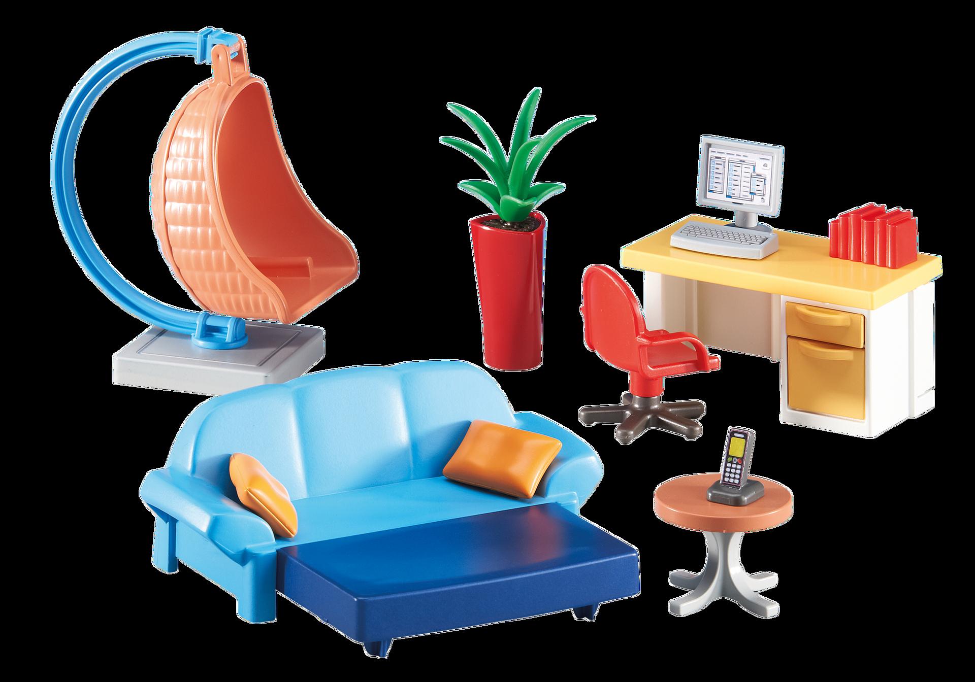 playmobil allemagne produit n°6457 gamme : city life produit, Wohnzimmer dekoo