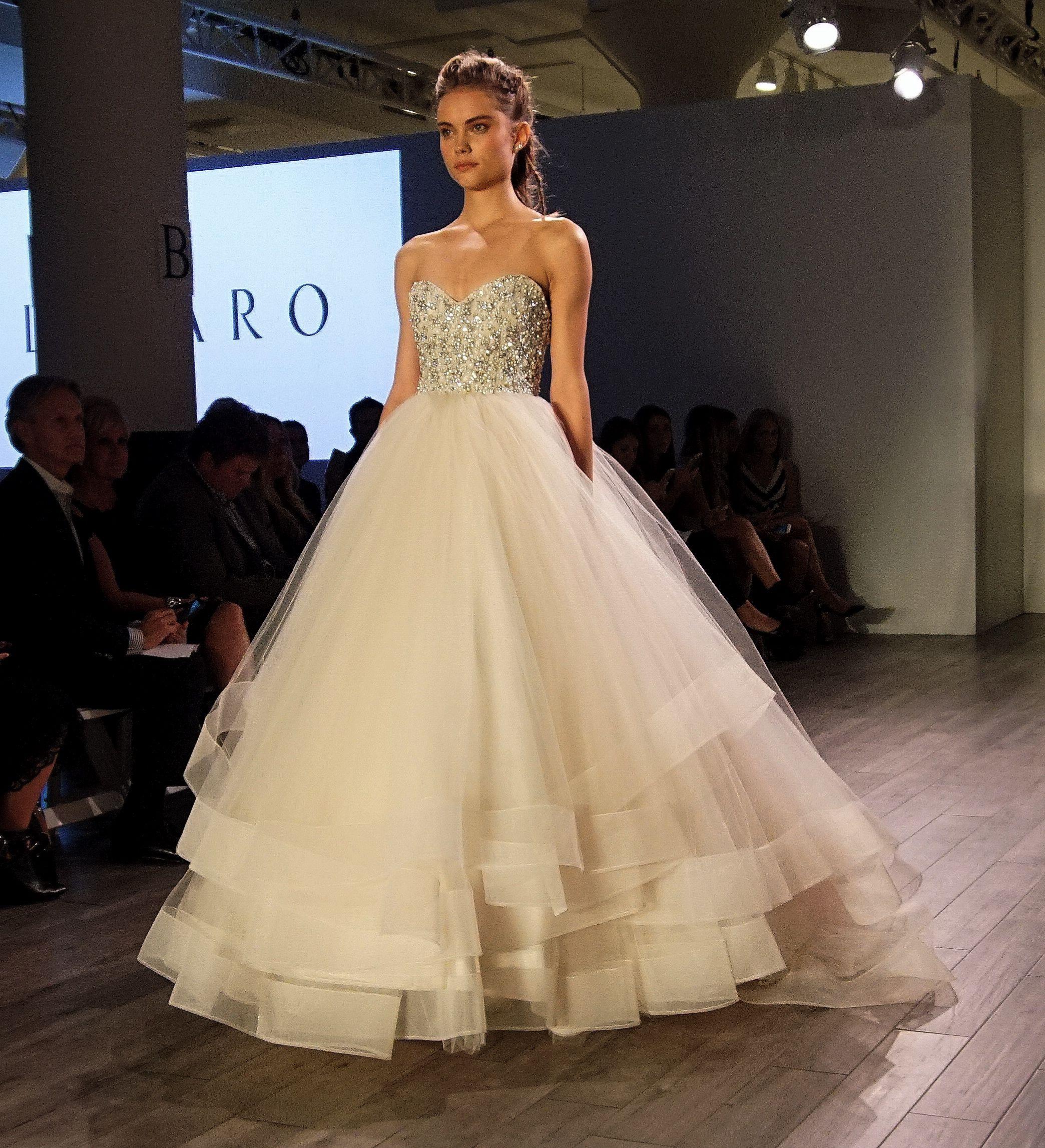 Wedding dress by Lazaro Style   ♡ ᘐ l a m o u r   Pinterest ...