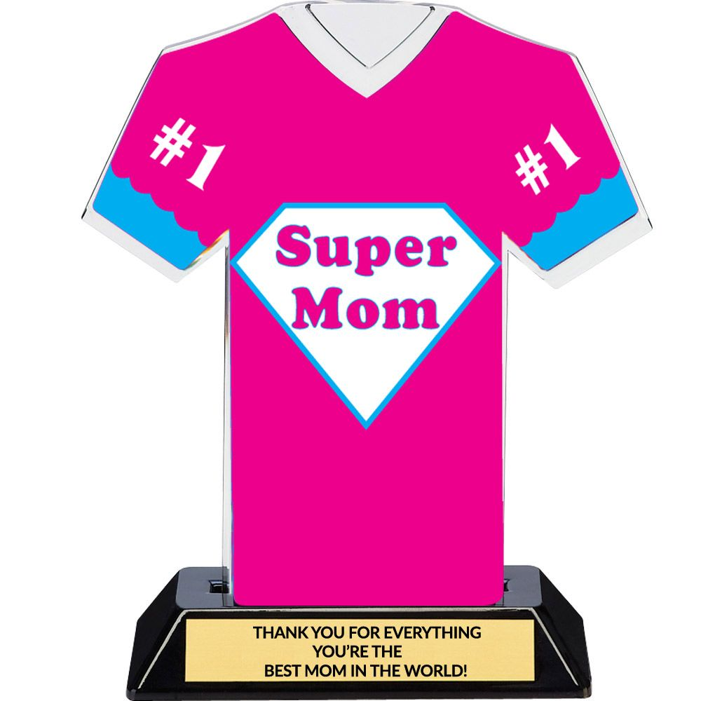 Super Mom Trophy Mother S Day Award Super Hero Trophy Dinn Trophy Super Mom Mothers Day Decor Great Mothers Day Gifts Best mom in the world award