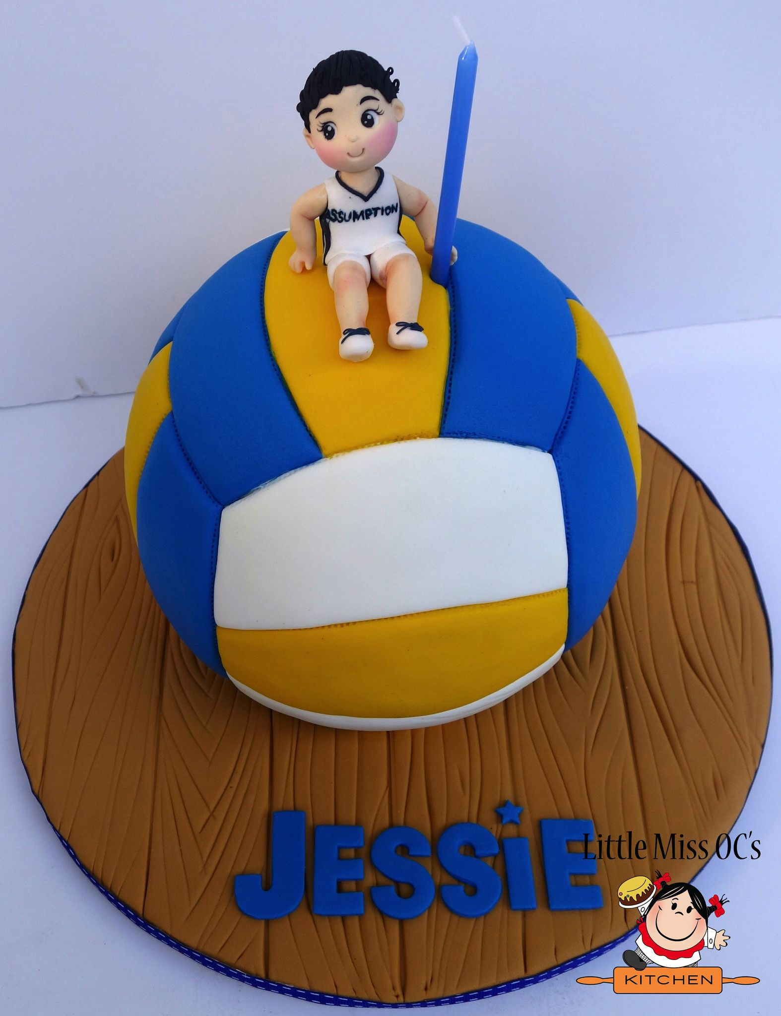 Https Flic Kr P Rrfymz Volleyball Cake Volleyball Cakes Volleyball Birthday Cakes Birthday Cake Girls