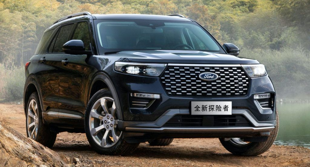 Does Chinas 2020 Ford Explorer Platinum Look Better Than Ours Automakers Go Out Of Their Way To Please Customers In T In 2020 2020 Ford Explorer Ford Explorer Ford