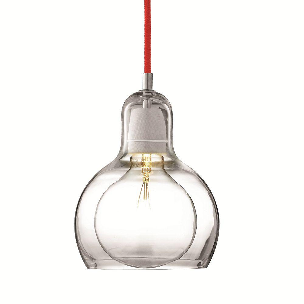 BULB MEGA - Lámpara de techo cable rojo & Tradition