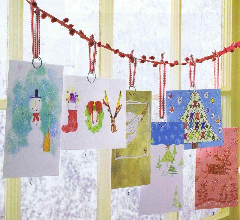 Carte de vœux pour noël 55 idées à fabriquer à la maison