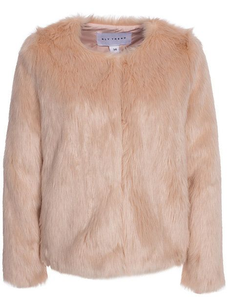Ice Cream Fake Fur - Nly Trend - Rosa - Jackor - Kläder - Kvinna - Nelly.com 29364a4b5800c