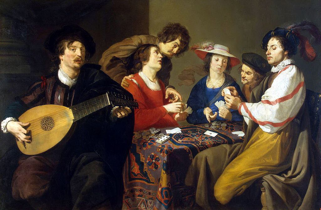 Theodor Rombouts - Card Game [1620s] | BAROCK Paintings | Pinterest ...