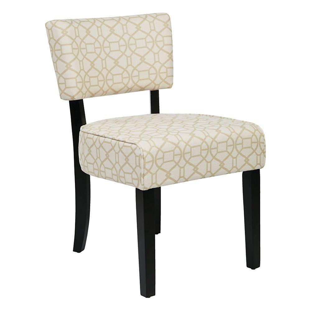 Inspired By Bassett 174 Abella Desk Chair Noah Antique Beige