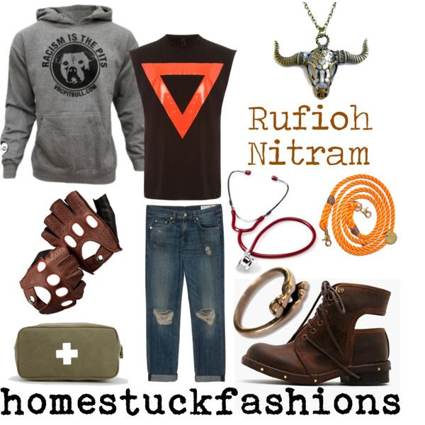 Rufioh Nitram by hollowzo on Polyvore featuring AQ/AQ, rag & bone/JEAN, Jeffrey Campbell, Aspinal of London, Found My Animal, Izola, women's clothing, women's fashion, women and female