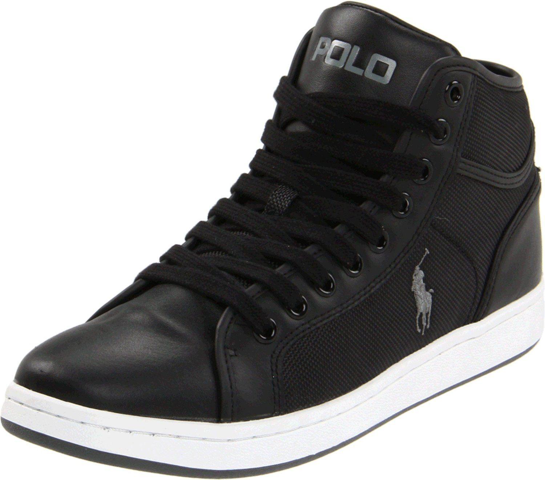 premium selection 9cac3 94cfc Amazon.com: Polo Ralph Lauren Men's Trevose Mid Sneaker ...