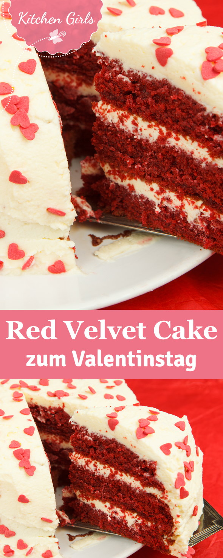 Rezept für Red Velvet Cake