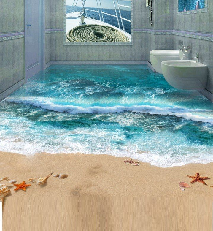 3D bathroom flooring designs and installing tips Floor