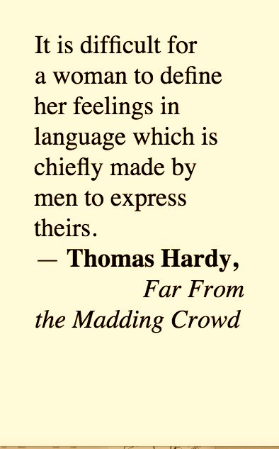 Thomas Hardy (2015 11 21) | Lit. I've Read | Literature quotes