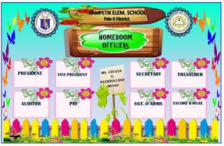 Classroom Homeroom And Organizational Chart Deped Tambayan Ph