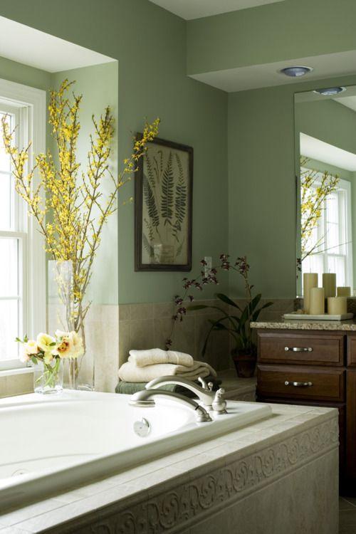 Aganthus Green 472 Bathroom Colors Bathroom Paint