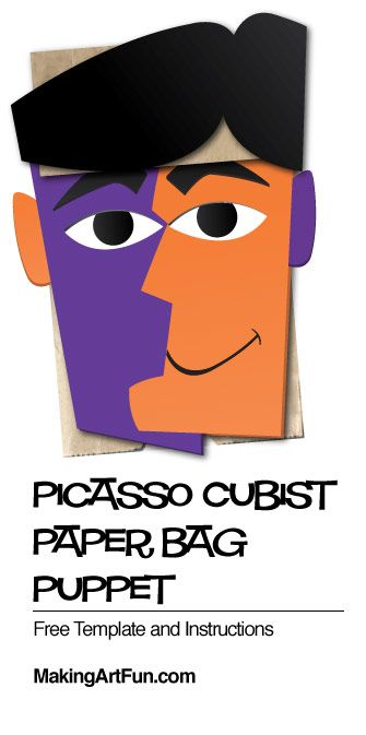 paper bag puppet instructions