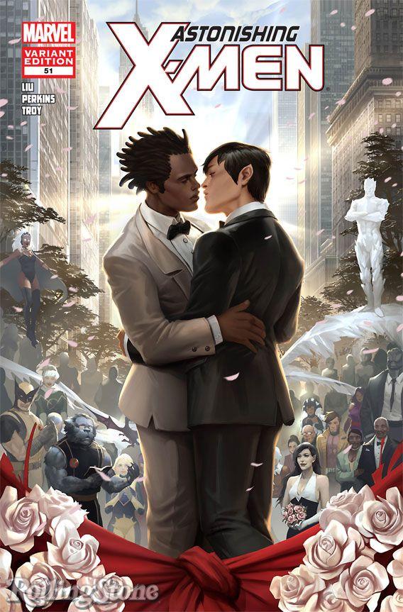 marvel comics gay