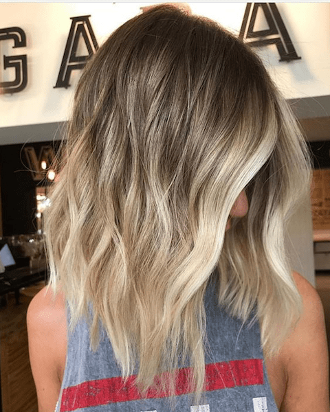 Ideas to go blonde - long warm balayage - allthestufficareabout.com