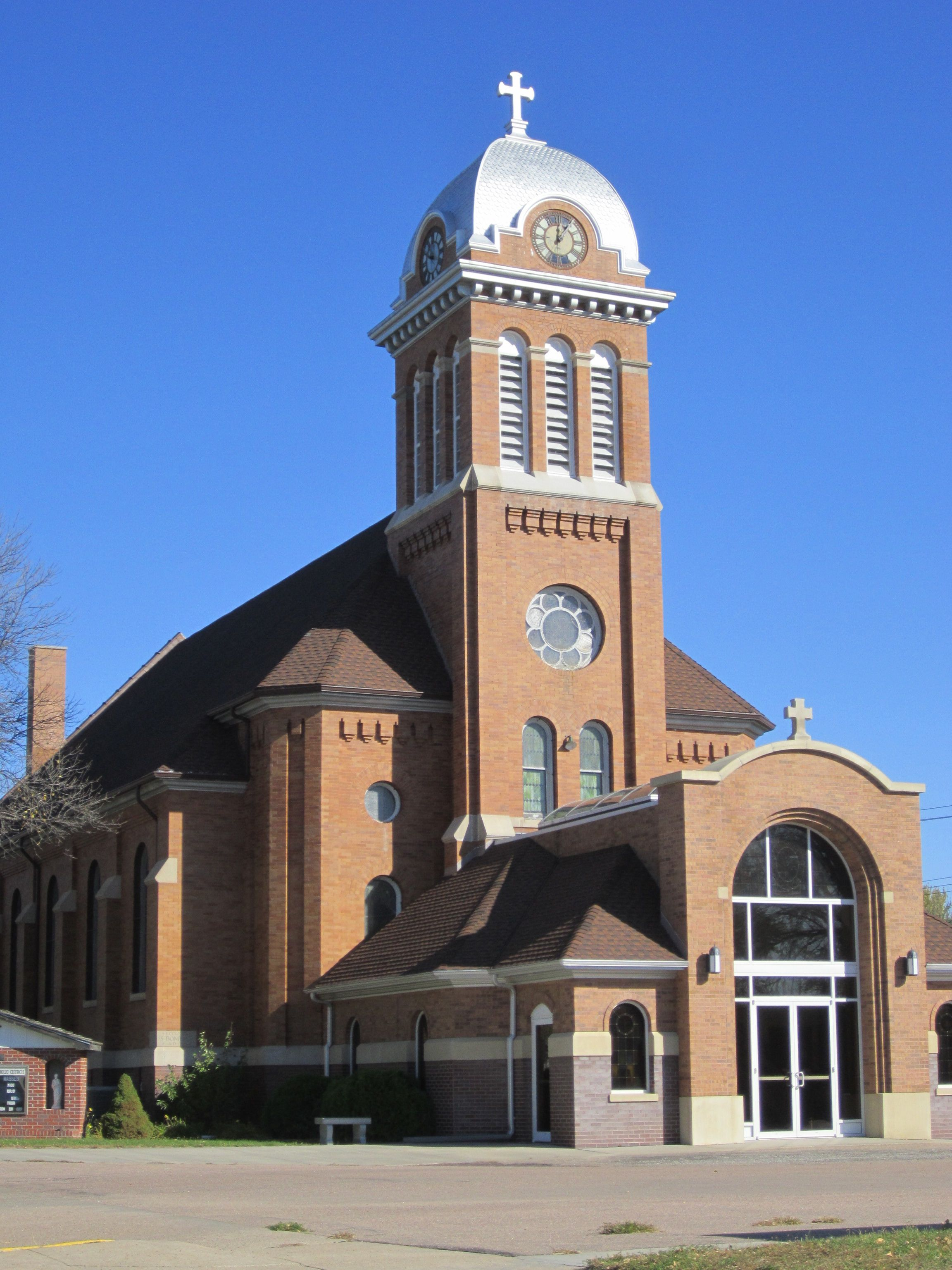 St Boniface Catholic Church In Stuart, Nebraska Where My Parents