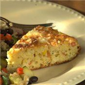 wanted a cornbread recipe with zip... hmm wonder if one added bottled salsa instead...  Must check out.