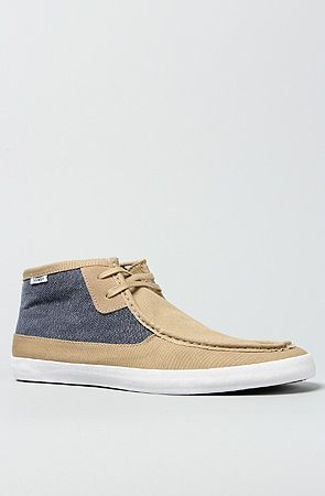 b00682419a The Rata Mid Boot in Khaki   Dark Denim by Vans Footwear.....Use the  code TheWork for 20% discount.