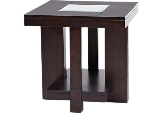 Awesome Lochlin Walnut End Table Kitchen Backsplash End Tables Spiritservingveterans Wood Chair Design Ideas Spiritservingveteransorg